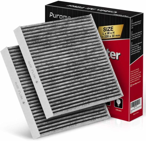 2 Pack Cabin Air Filter