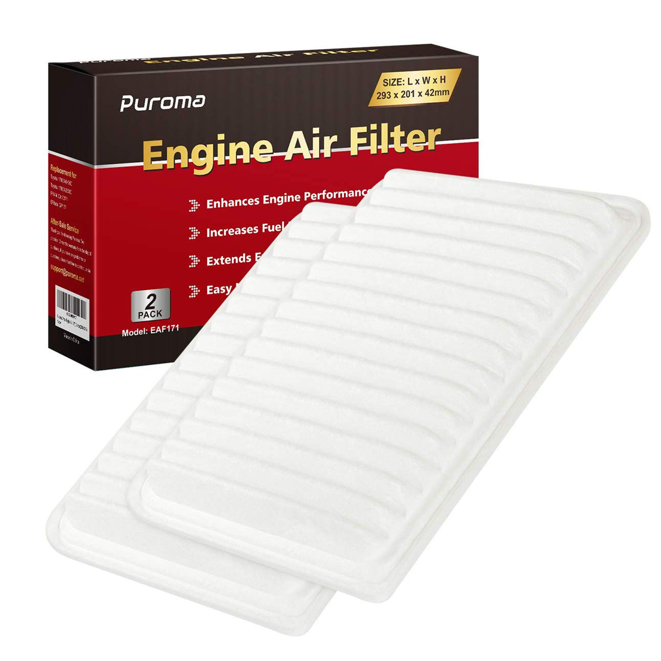 Luber-finer AF4017 Air Filter